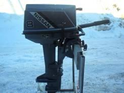 Tohatsu. 8,00л.с., 2х тактный, бензин, нога S (381 мм)