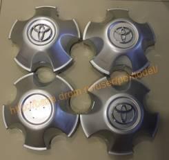 """4 колпака с дефектами для литых дисков Toyota Land Cruiser 100. Диаметр Диаметр: 17"""", 1 шт."""