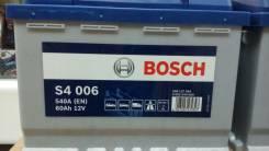 Bosch. 60 А.ч., левое крепление, производство Европа