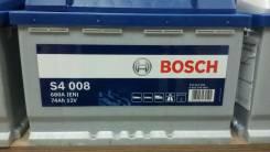 Bosch. 74 А.ч., правое крепление, производство Европа