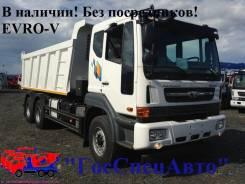 Daewoo Novus. 2014г Cамосвал 20тонн Evro 5, 10 800 куб. см., 20 000 кг.