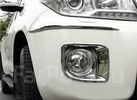 Накладка на фару. Toyota Land Cruiser, GRJ76K, GRJ79K, URJ202, VDJ200, URJ202W, J200 Двигатели: 1VDFTV, 1URFE, 3URFE, 1GRFE