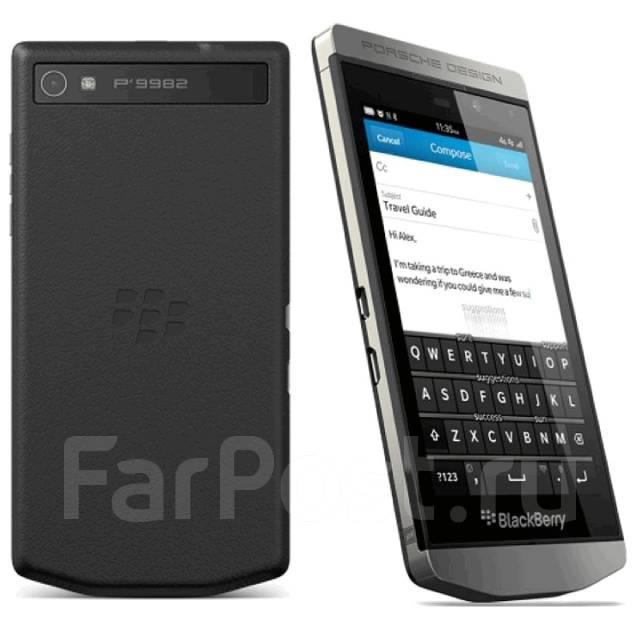 новый смартфон blackberry porsche