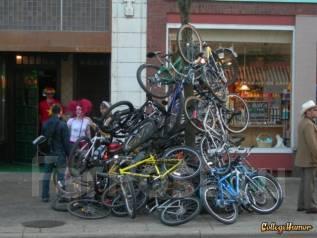 Распродажа велосипедов. Япония, Китай.