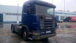 Scania. Тягач Скания R 114, 10 640 куб. см., 18 600 кг.