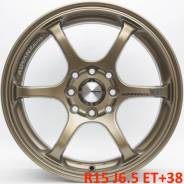 Advan Racing RGII. 6.5x15, 4x100.00, 4x114.30, ET38, ЦО 73,1 мм.