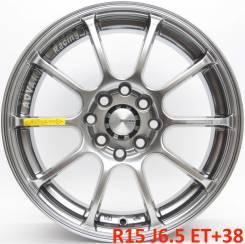 Advan RG2. 6.5x15, 4x100.00, 4x114.30, ET38, ЦО 73,1мм.