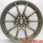 "Advan Racing RSII. 7.0x17"", 5x100.00, 5x114.30, ET40, ЦО 73,1 мм."