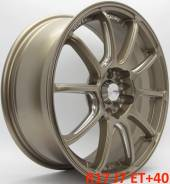 Advan Racing RSII. 7.0x17, 5x100.00, 5x114.30, ET40, ЦО 73,1 мм.