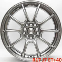Advan Racing RSII. 7.0x17, 5x100.00, 5x114.30, ET40, ЦО 73,1мм.