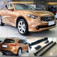 Обвес кузова аэродинамический. Infiniti FX37, S51 Infiniti QX70, S51 Infiniti FX50, S51 Infiniti FX35, S51. Под заказ