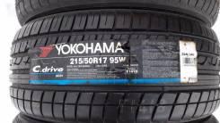 Yokohama AC01 C.Drive. Летние, 2009 год, без износа, 4 шт