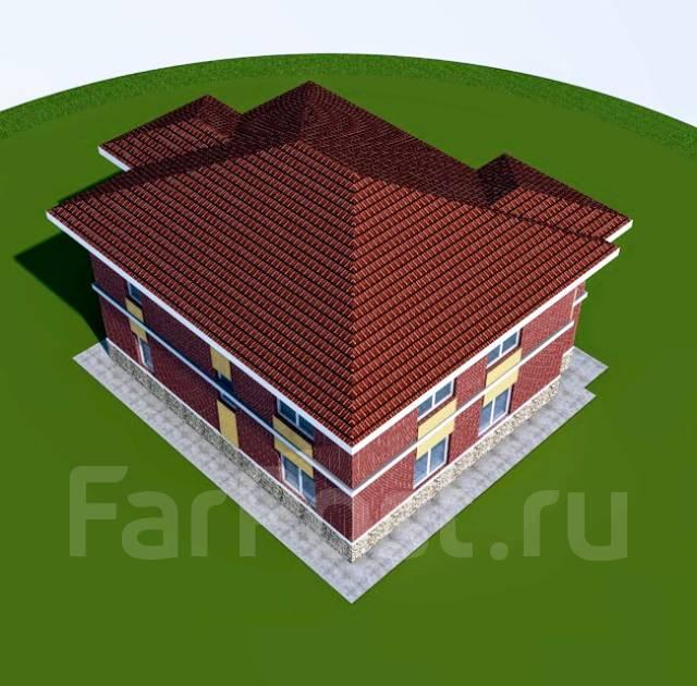 046 Z Проект двухэтажного дома в Сарове. 100-200 кв. м., 2 этажа, 6 комнат, бетон