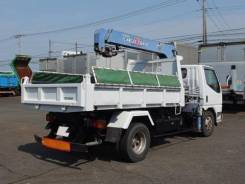 Mitsubishi Canter. Манипулятор +Самосвал во Владивостоке., 4 600 куб. см., 3 000 кг. Под заказ