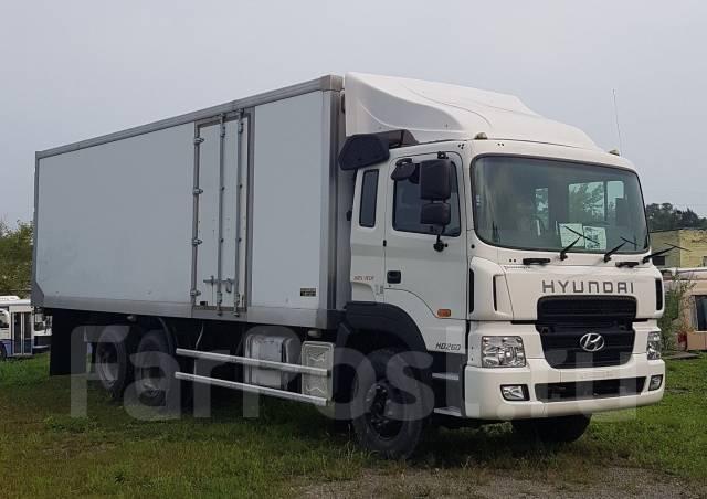 Hyundai HD260. Новый грузовой фургон во Владивостоке, 12 344куб. см., 16 500кг.
