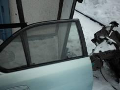 Стекло боковое. Toyota Prius, NHW10 Двигатель 1NZFXE