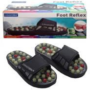 Рефлекторные массажные шлепанцы Foot Reflex