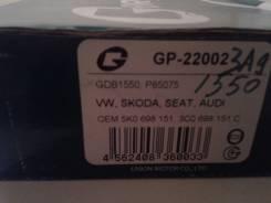 Колодка тормозная дисковая. Audi Skoda