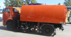 Кургандормаш КО-318Д. Подметально-уборочная (пылесос) КО-318Д на шасси Камаз-53605