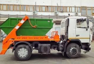 МАЗ 5550В2-480-001. МК-3412-01 на шасси МАЗ 5550В2-480-041 бункеровоз (без бункера) ЕВРО-4, 6 650 куб. см.