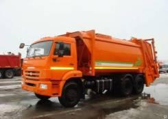 Камаз 65115. МК-4446-38 NEW мусоровоз на шасси Камаз-65115-773081-42 б/к, с портал, 12 000 куб. см.