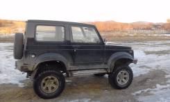 Suzuki Jimny. механика, 4wd, 1.3 (85 л.с.), бензин, 120 тыс. км