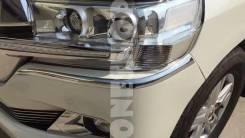 Накладка на бампер. Toyota Land Cruiser, VDJ200, URJ202W, UZJ200W, URJ202, UZJ200. Под заказ