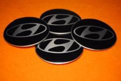 "Заглушки Hyundai! на колпачки дисков,4 шт.! 70 mm. В наличии!. Диаметр Диаметр: 16"", 1 шт."