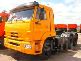 Камаз 65116. Сидельный тягач -6010-23(A4), 6 700 куб. см., 15 500 кг.