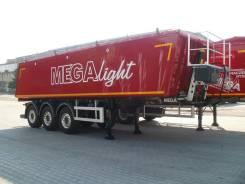 """MEGA. Алюминиевый самосвальный полуприцеп MNW 2 """"Light"""" Объём 28 м3, 34 500 кг. Под заказ"""