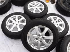 """(Комплект 1453) диски 14"""" Bridgestone PRD, 5,5, +38, 68 mm 4-100. 5.5x14, 4x100.00, ET38, ЦО 68,0мм."""
