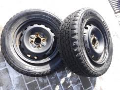 Bridgestone Blizzak W965. Зимние, без шипов, 2012 год, износ: 10%, 2 шт