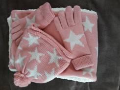 Шапка, шарф и перчатки. 57