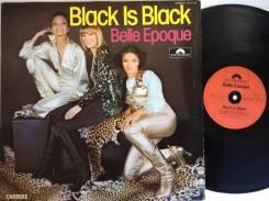 БЕЛЬ ЭПОК / Belle Epoque - Black is Black - DE LP 1976 Space Disco