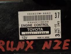Блок управления двс. Toyota Corolla Fielder, NZE121 Toyota Allex, NZE121 Toyota Corolla Runx, NZE121 Двигатель 1NZFE