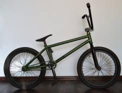 BMX велосипед из топ запчастей
