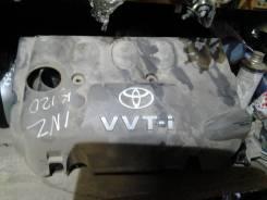 Крышка двигателя. Toyota Corolla Fielder, NZE120, NZE121 Двигатели: 1NZFXE, 1NZFE