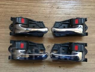 Ручка двери внутренняя. Toyota: Chaser, Corolla, Mark II, Crown, Cresta, Altezza, Kluger V, MR-S, MR2, Harrier, Caldina, Gaia, Comfort Двигатели: 1GFE...