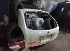 Дверь багажника Nissan Primera P12 2002>(Без стекла). Nissan Primera, HP12, P12, QP12, RP12, TP12, WHP12, WRP12, WTNP12