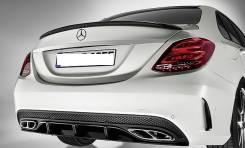 Спойлер. Mercedes-Benz C-Class, W205
