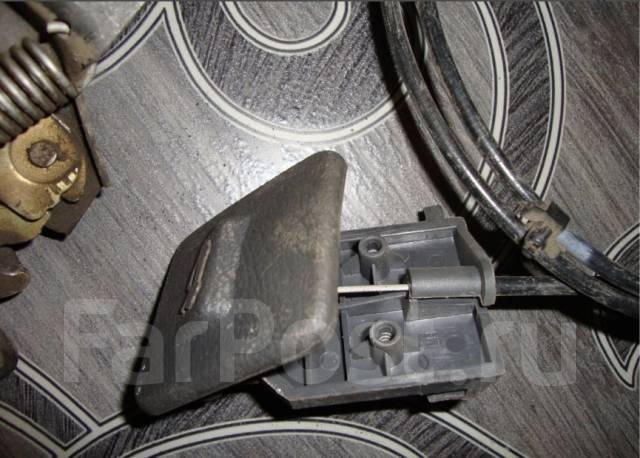 Ручка открывания капота. Chevrolet Lanos