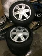 Литые диски 4х100 r15 с ларгуса на резине Кама евро 185/65 колёса новы. 6.5x15 4x100.00 ET45 ЦО 60,1мм.