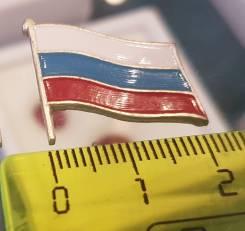 Триколор. Значек. Флаг России