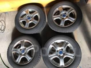 Продам комплект колес Toyo GaritG4 175/65R14 на литье. 5.5x14 4x100.00 ET45 ЦО 73,0мм.