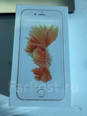 Apple iPhone 6s. Новый, 16 Гб, Желтый, Золотой, Розовый