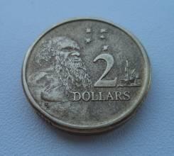 Австралия, 2 доллара 1988 - Аборигены Австралии