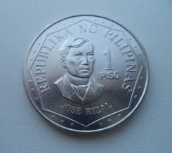 Филиппины, 1 песо 1975 год - без оборота