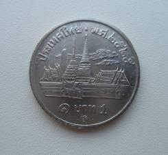 Тайланд, 1 бат 1982 - большая монета -