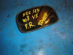 Стекло зеркала. Toyota WiLL VS, ZZE128, ZZE127, NZE127