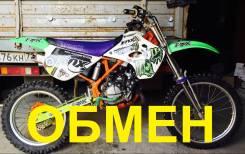 Kawasaki KX 80. 80 куб. см., исправен, без птс, с пробегом. Под заказ